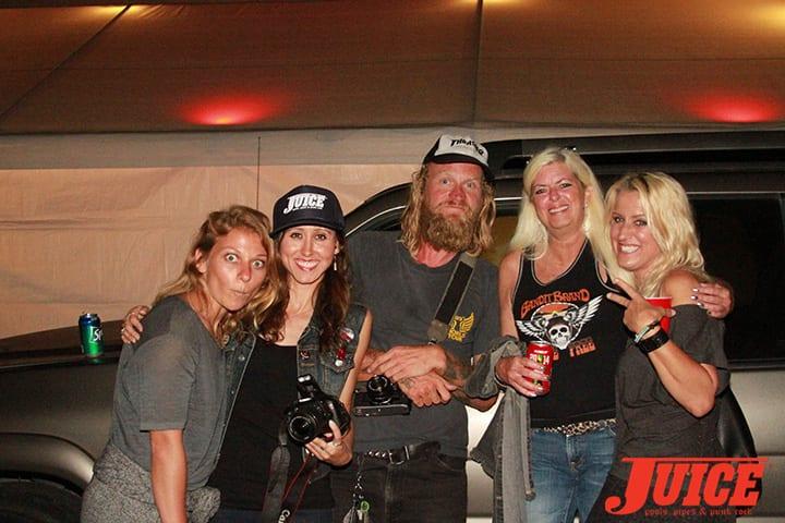 Kate, Vanessa, Wauman, Terri and Kristen. Daggers Rule! 2014. Photo by Dan Levy