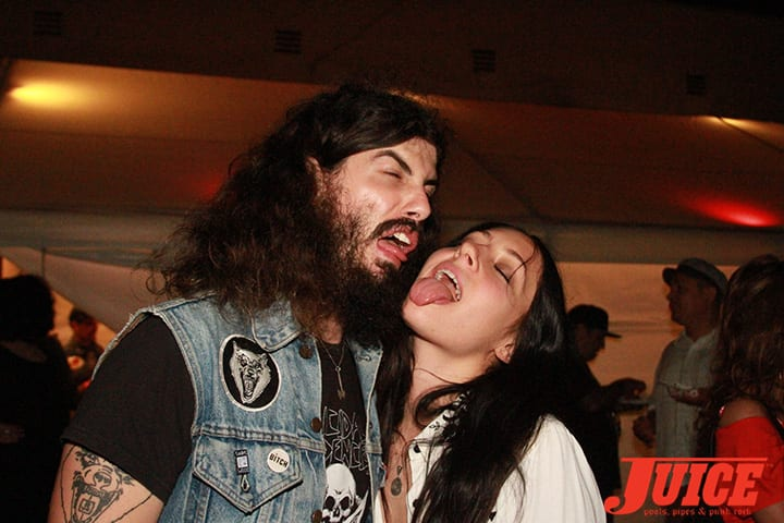 Josh Landau and Olivia Jaffe. Daggers Rule! 2014. Photo by Dan Levy