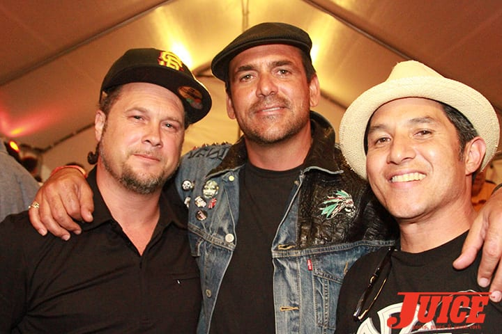 Joey Tershay, Robert Rusler and Christian Hosoi. Daggers Rule! 2014. Photo by Dan Levy
