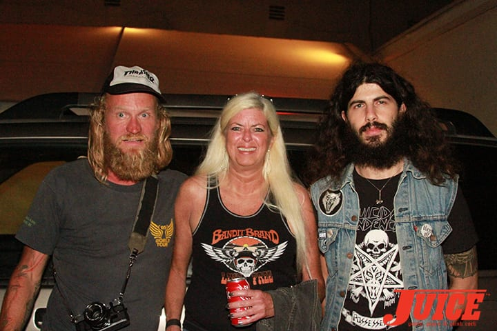 Andy Wauman, Terri Craft and Josh Landau. Daggers Rule! 2014. Photo by Dan Levy