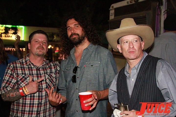 Eric Dressen, Al Partenan, Max Perlich. Daggers Rule! 2014. Photo by Dan Levy