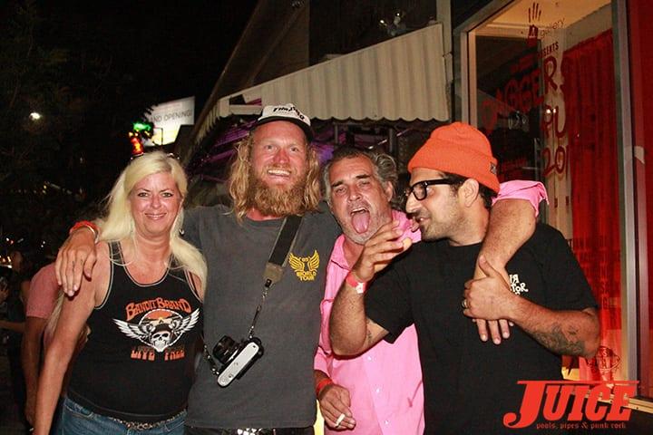 Terri Craft, Andy Wauman, Steve Olson and Yaniv Evan. Daggers Rule! 2014. Photo by Dan Levy