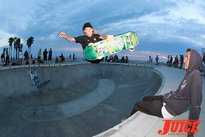 HADDEN MCKENNA AND JESSE MARTINEZ. SHOGO KUBO MEMORIAL SKATE SESSION VENICE. PHOTO BY DAN LEVY