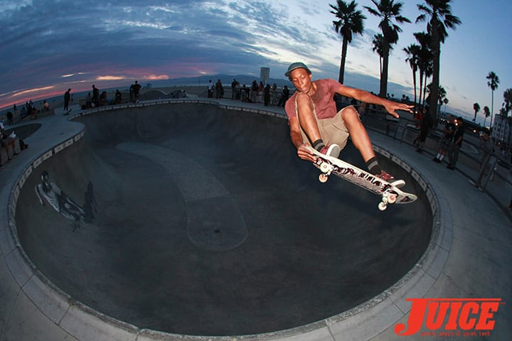 LEANDRE SANDERS. SHOGO KUBO MEMORIAL SKATE SESSION VENICE. PHOTO BY DAN LEVY