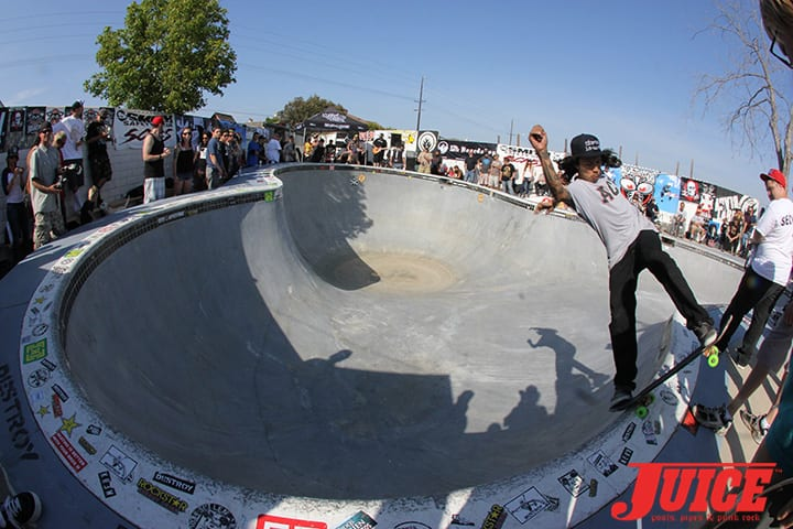 "Eddie ""Mighty"" Moreno. Basic Bowl 2014. Photo: Dan Levy"