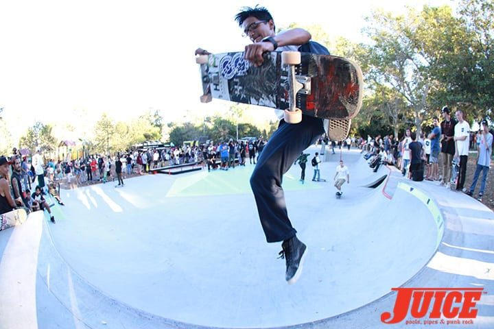 Diamond Skate Plaza Opening Day 2014. Photo by Dan Levy.