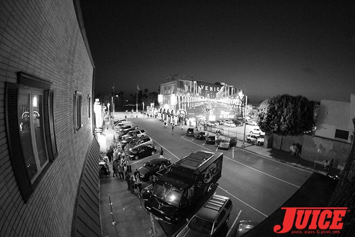 View from the Z-Flex Jay Boy Classic After Party. Photo by Dan Levy