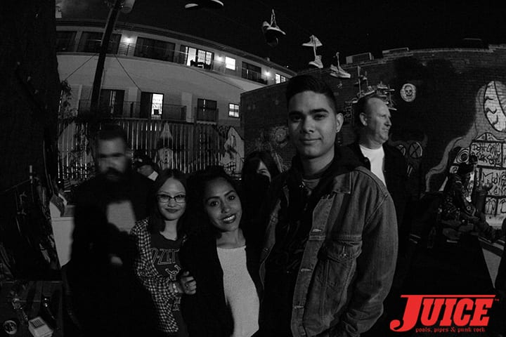 Levi Jackson and crew. Z-Flex Jay Boy Classic After Party. Photo by Dan Levy