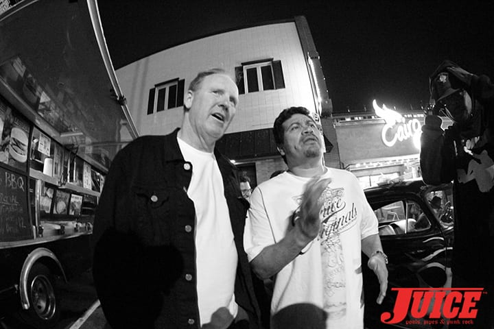 Jim Muir and Block. Z-Flex Jay Boy Classic After Party. Photo by Dan Levy