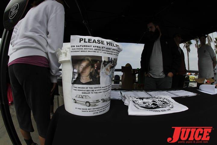 Donate to the Ian Imes fundraiser. Z-Flex Jay Boy Classic. Photo by Dan Levy
