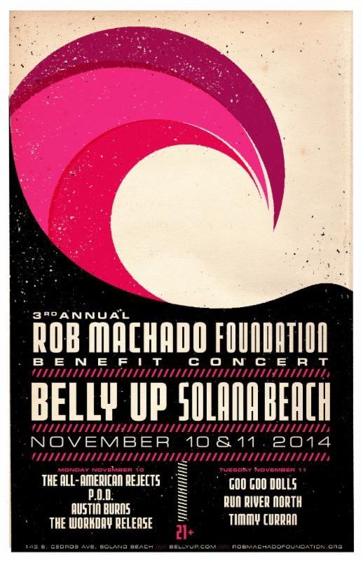 Rob Machado Foundation Benefit Concert