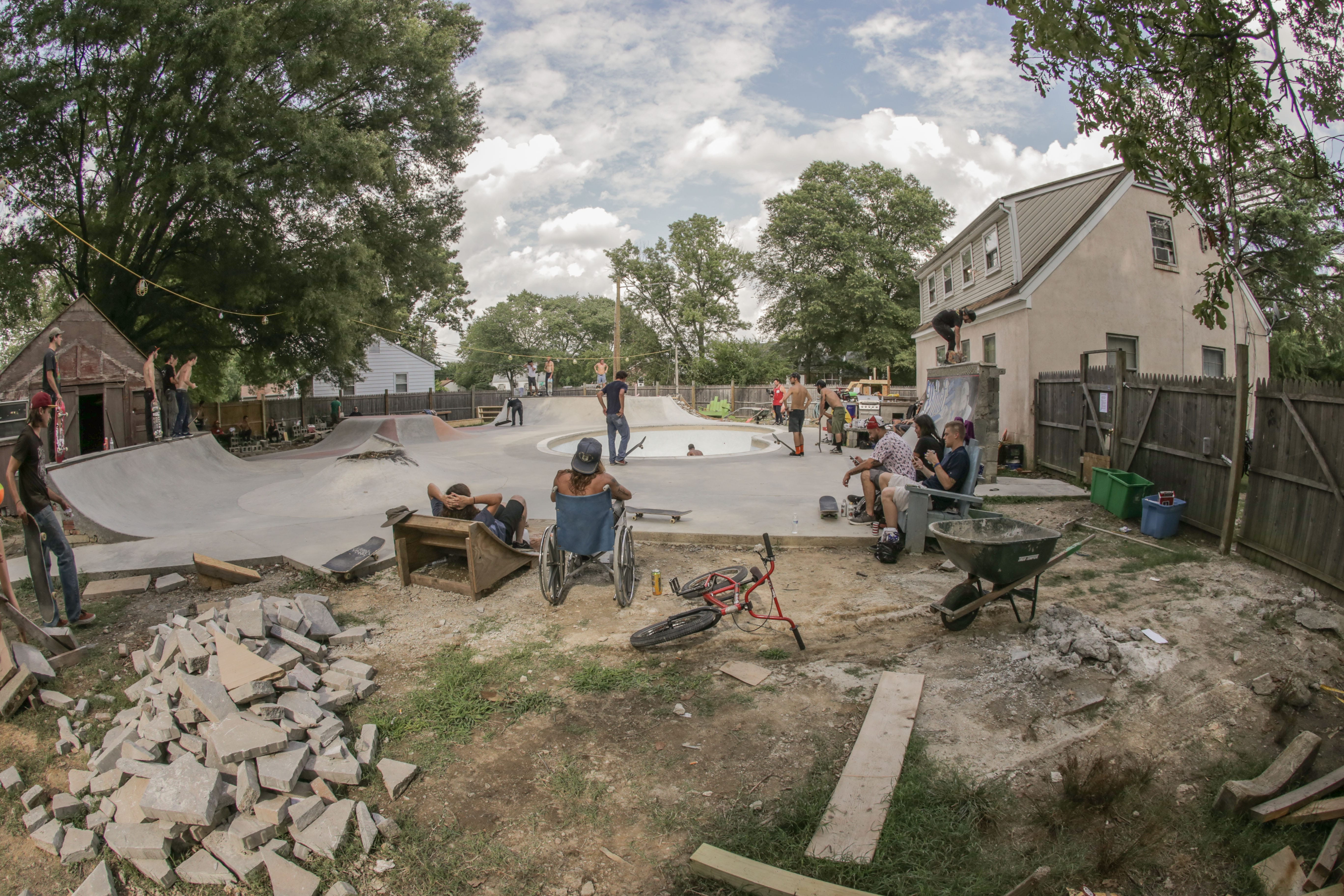 a diy backyard skateboarding haven in virginia juice magazine