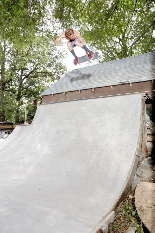 A DIY Backyard Skateboarding Haven in Virginia