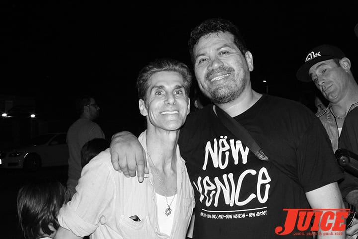 Perry Farrell and Block. Photo by Dan Levy