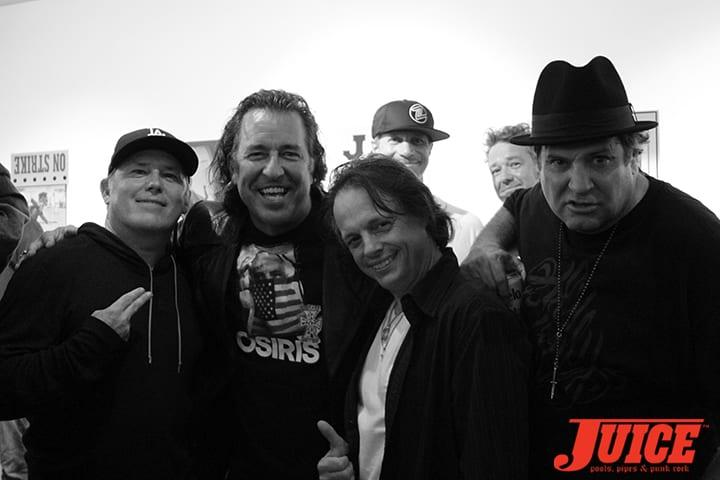 Brandon Cruz, David Hackett, Tony Magnusson, Dave Duncan. Photo by Dan Levy