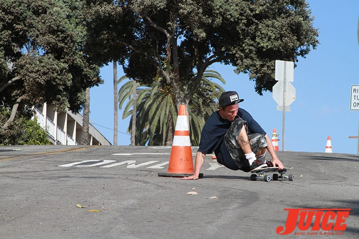 Seven Adams pays respect to his dad, Jay Adams at Bicknell Hill