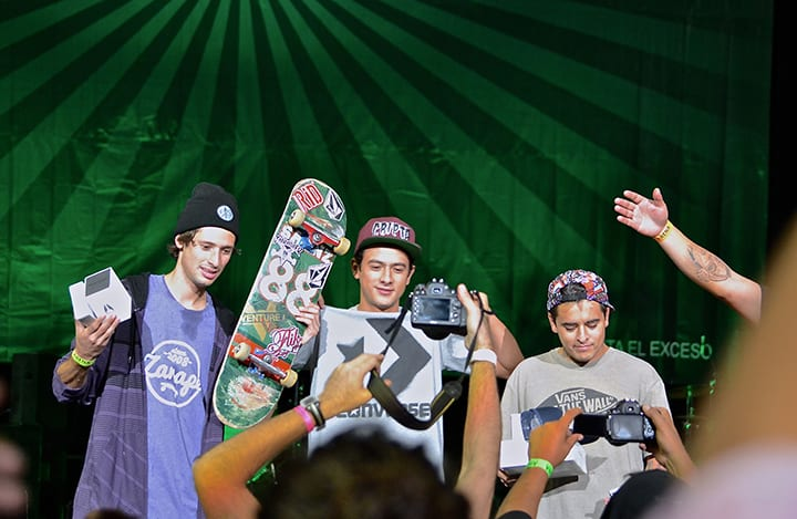 Tony Hawk Ramp Mexico Winners