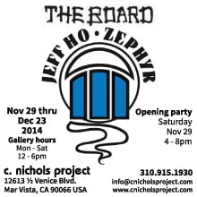 Christine Nichols Project presents The Board featuring Jeff Ho of Zephyr Productions