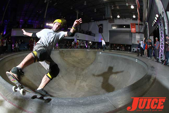 Andy Macdonald at Steve Caballero 50th Birthday Party