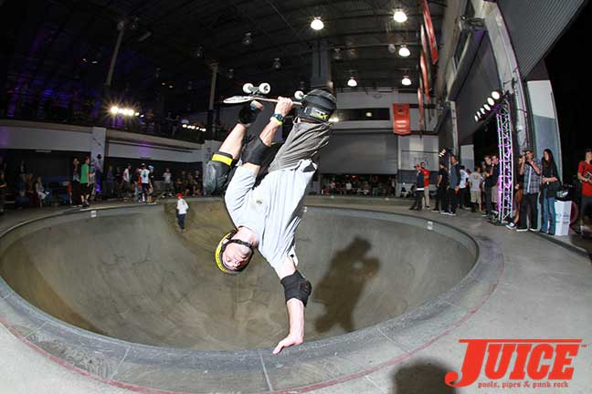 Andy Macdonald rips at Steve Caballero 50th Birthday Party