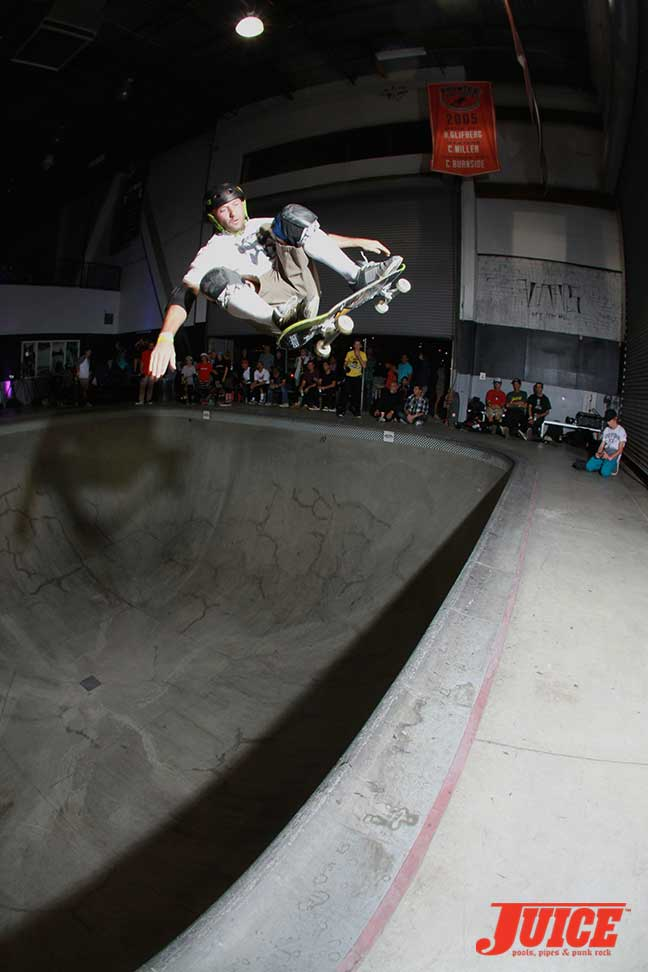 Brian Patch at Steve Caballero 50th Birthday Party