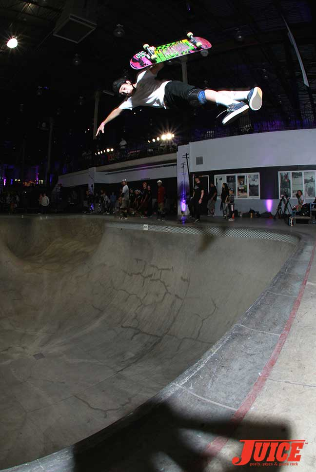 Corey Juneau Skate Session at Steve Caballero 50th Birthday Party