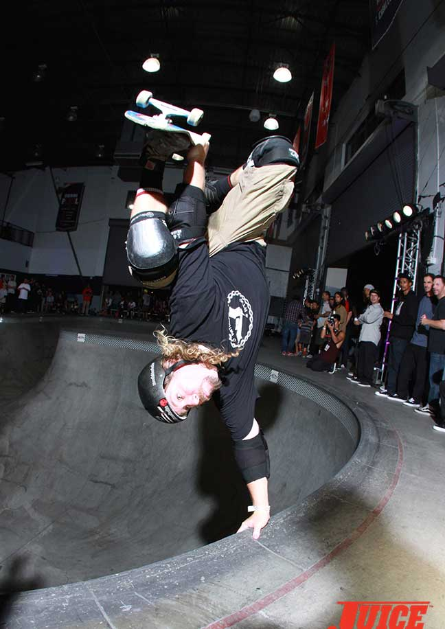 Jeff Hedges at Steve Caballero 50th Birthday Party