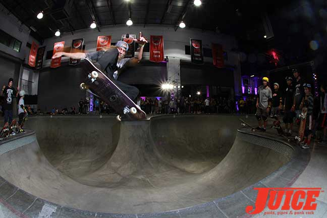 Greyson Fletcher at Skate Session at Steve Caballero 50th Birthday Party