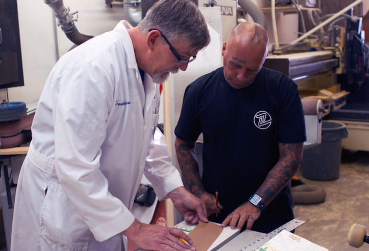 Jay Adams and Paul Schmitt design Master Crafted Z-Flex Skateboard
