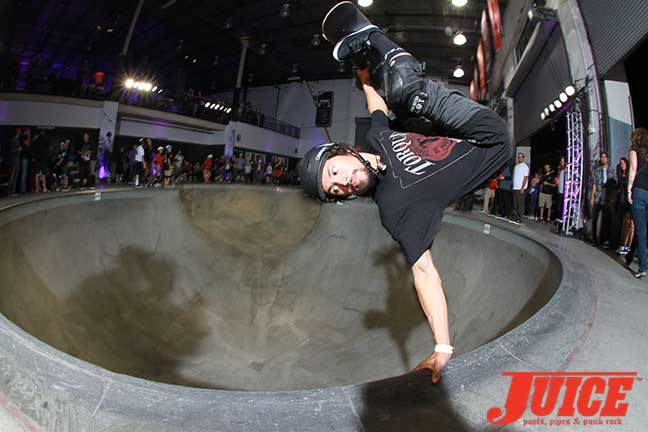 Josh Rodriguez at Steve Caballero 50th Birthday Party