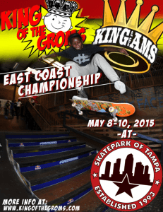 King of the Groms East Coast Championship