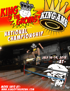 King of the Groms National Championship