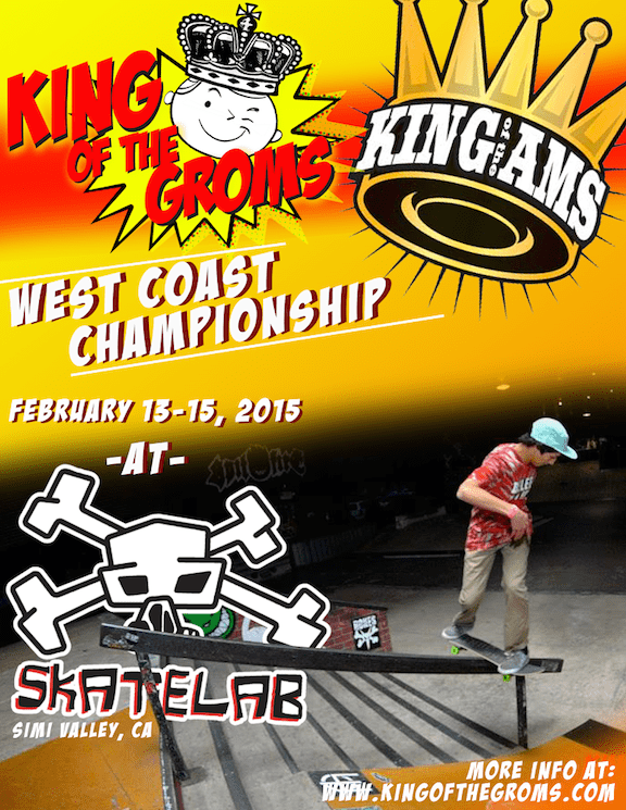 King of the Groms West Coast Championship