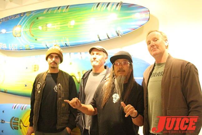 Jason Landau, Ed Marshall, Jeff Ho, Jim Muir. Photo by Dan Levy
