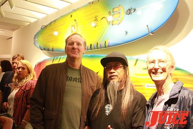 Jim Muir, Jeff Ho and Cris Dawson. Photo by Dan Levy