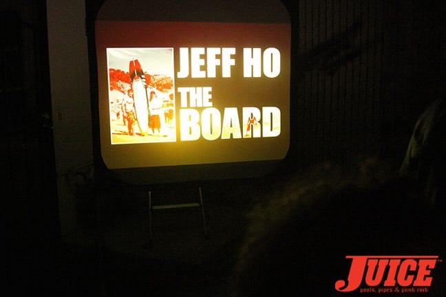 Jeff Ho The Board Show. Photo by Dan Levy