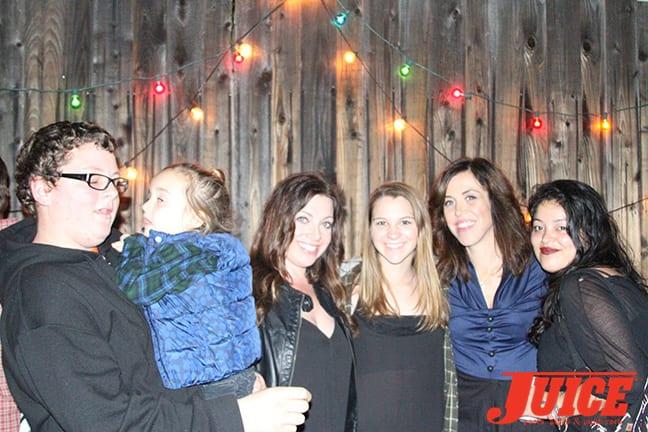 Parker Distelrath, Stephanie Parker, Sydney Distelrath, Kaycee Smith and Rafaela Carrillo. Photo by Dan Levy