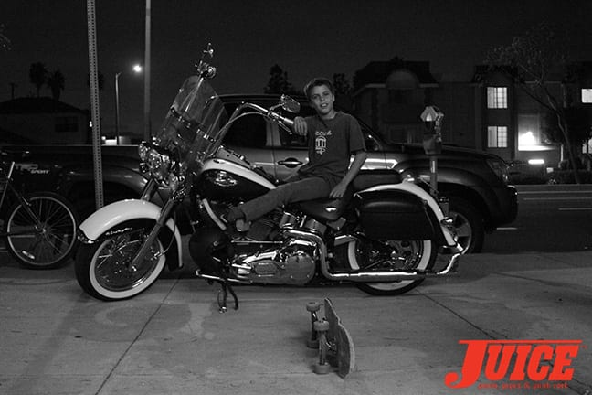 Custom Chopper at the Jeff Ho Show. Photo by Dan Levy