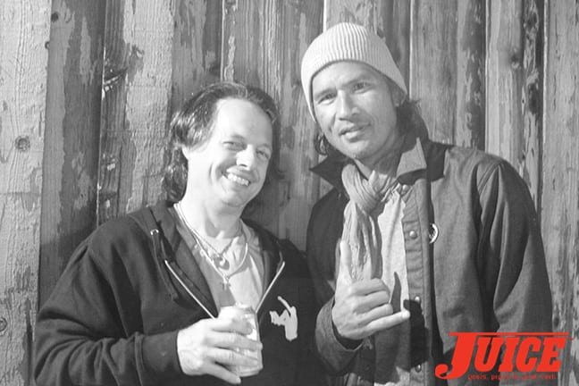 Tony Magnusson and Pat Ngoho. Photo by Dan Levy