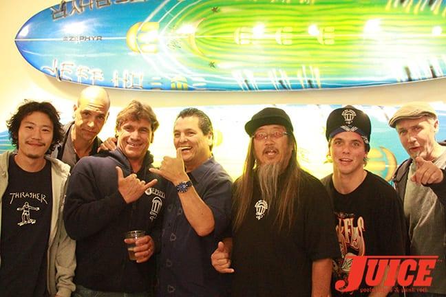 Shota Kubo, Solo Scott, Allen Sarlo, Howard Hood, Jeff Ho, Seven Adams and Ed Marshall. Photo by Dan Levy