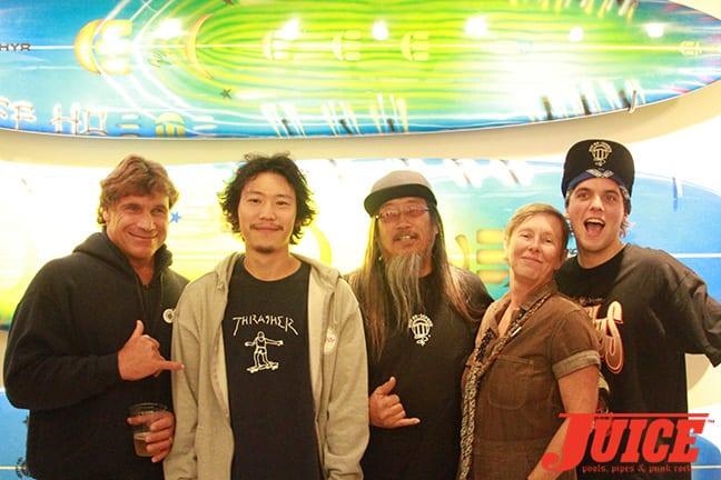 Allen Sarlo, Shota Kubo, Jeff Ho, Christine Nichols, Seven Adams. Photo by Dan Levy