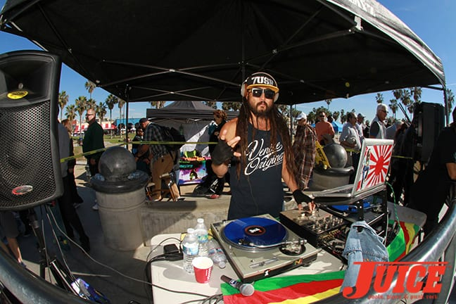 IMG_0917 - Bennett Harada DJ for the Makaha Bowl Jam 2015. Photo by Dan Levy
