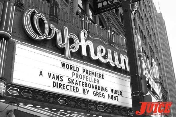 Orpheum Theatre in Los Angeles, CA.