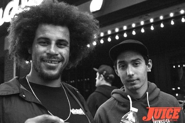 Blake Johnson and Julien Martinez. Photo by Dan Levy
