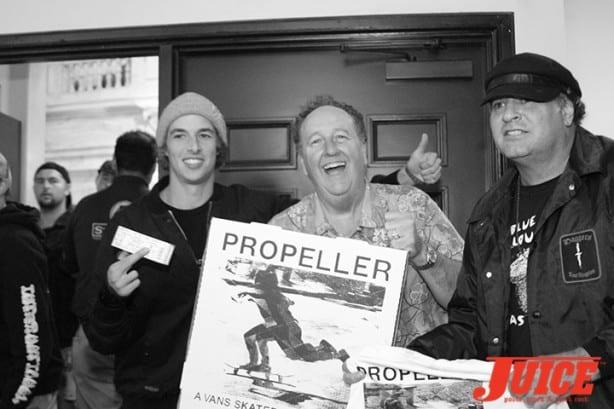 Ryan Decenzo, Steve Van Doren and Dave Duncan. Photo by Dan Levy