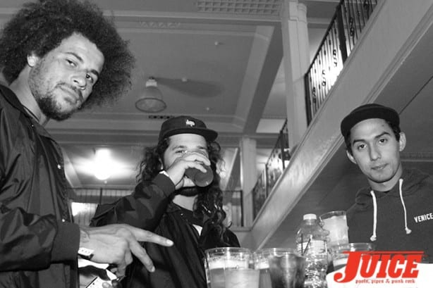 Blake Johnson, Brett Sube, Julian Martinez. Photo by Dan Levy