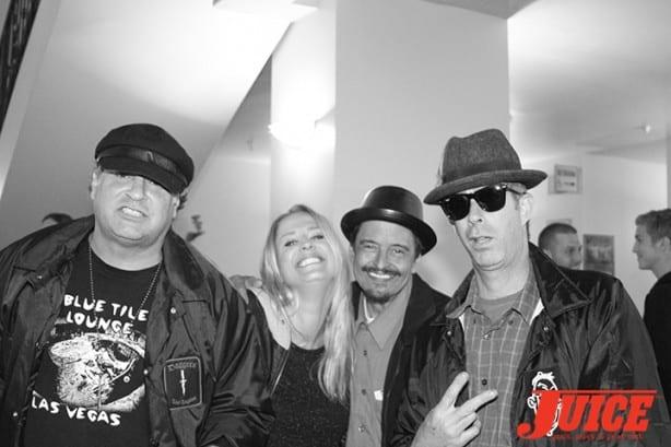 Dave Duncan, Kristen Rew, Skatemaster Tate, Crazy Tom. Photo by Dan Levy