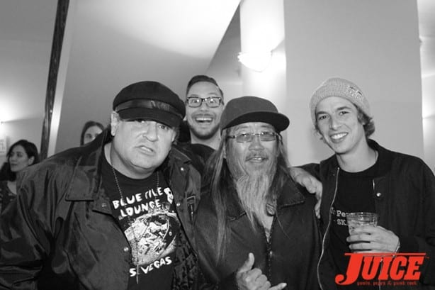 Dave Duncan, Chris Nieratko, Jeff Ho, Ryan Decenzo. Photo by Dan Levy