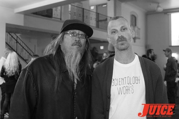 Jeff Ho and Jason Dill. Photo by Dan Levy