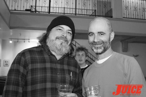 Dave Carnie and Tobin Yelland. Photo by Dan Levy